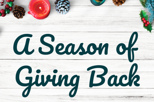 A Season of Giving Back