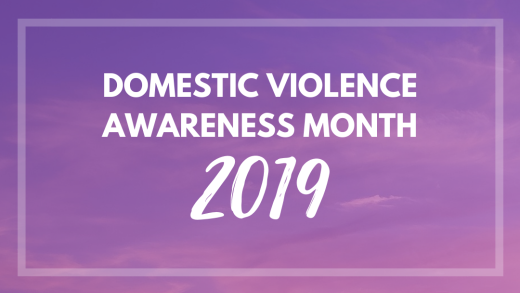 Domestic Violence Awareness Month 2019